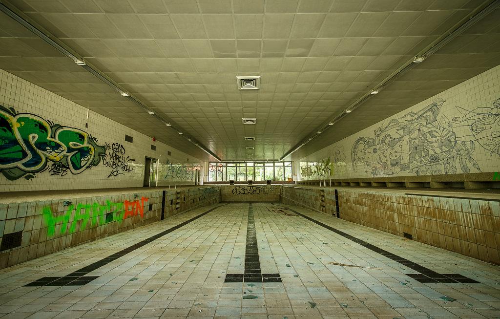 Swimming Pool HDR